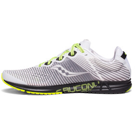 saucony Type A8 Shoes Herren white/black/citron